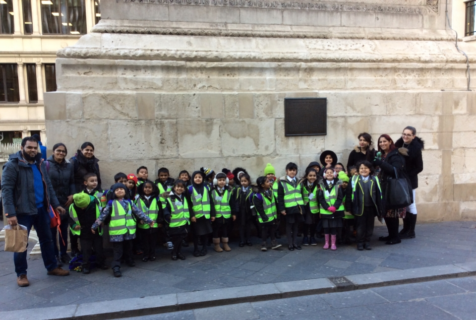 Year 1 Great Fire of London Trip