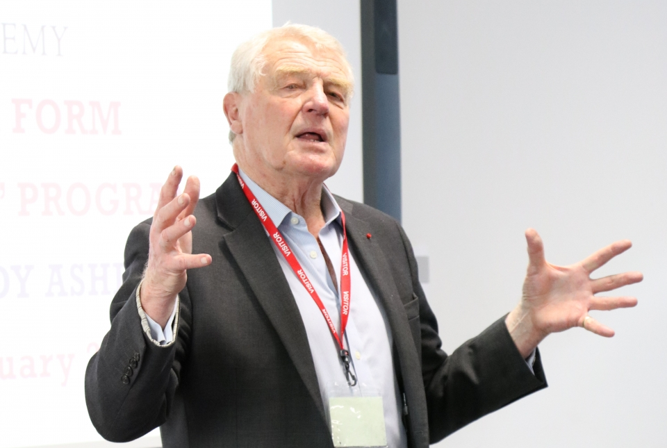 Lord Paddy Ashdown