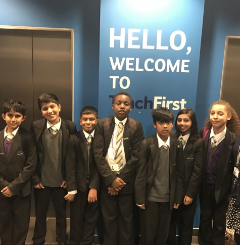 Year 7 Visit to Teach First
